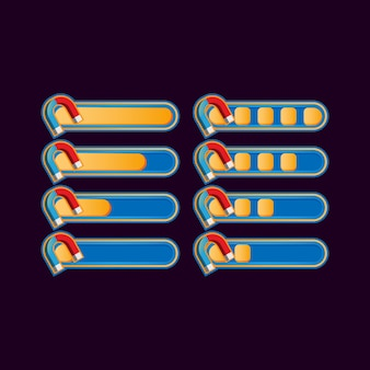 Набор забавных случайных магнитов для элементов пользовательского интерфейса игры