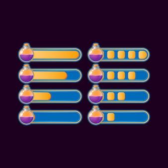 Набор забавных случайных индикаторов прогресса зелья для элементов пользовательского интерфейса игры