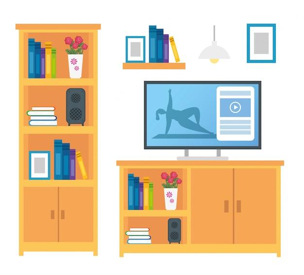 Набор мебели для декорирования и икон