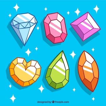 Набор из драгоценных камней