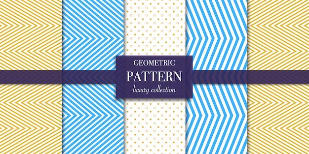 기하학적 인 선 및 점 패턴의 집합