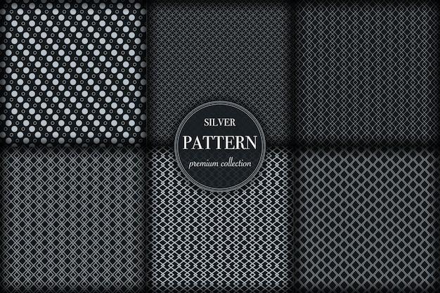 기하학적 선 패턴의 집합