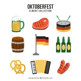 Набор элементов немецкой вечеринки