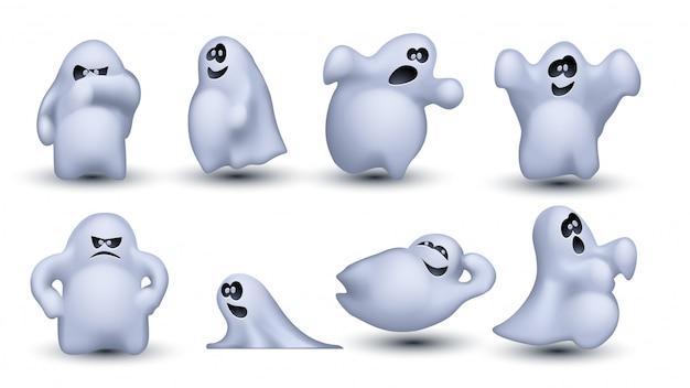 幽霊のセット