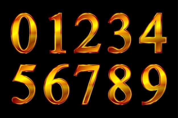 Набор золотых чисел