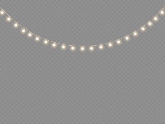 황금 크리스마스 빛나는 화환 세트 네온 램프 신년 파티 크리스마스 조명 장식을 주도