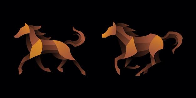 勾配馬のセット