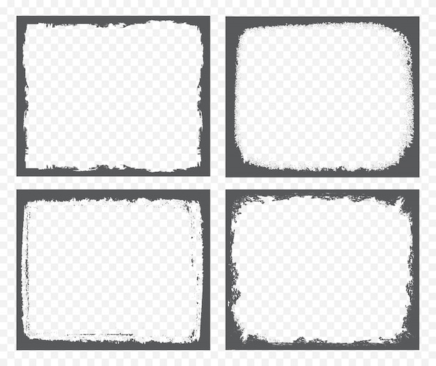 グランジ枠のセット