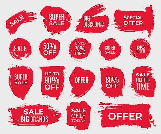 Набор гранж-элементов для продажи