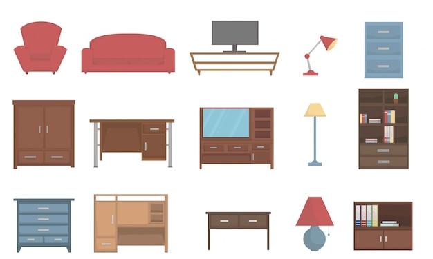 家の家具のセット