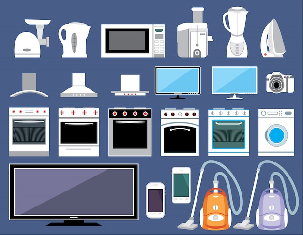 家電製品のセット