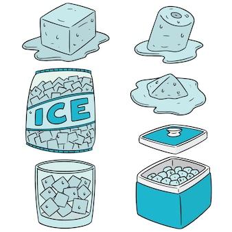 얼음 세트