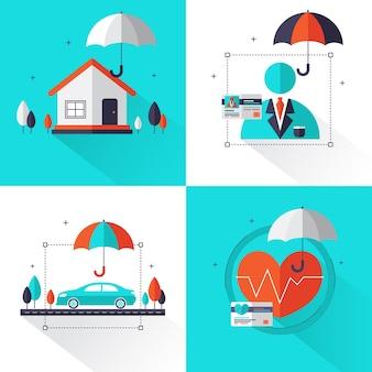 Набор концепции страхования