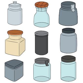 Set of jar