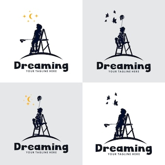 Набор логотипа kids dream