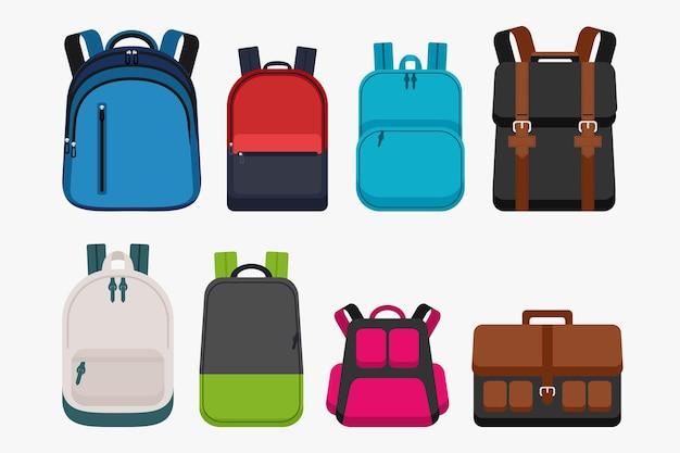Набор детского школьного оборудования для рюкзака