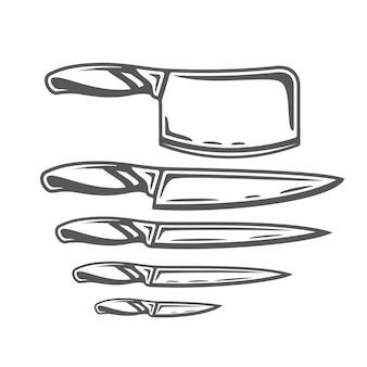 ナイフのセット