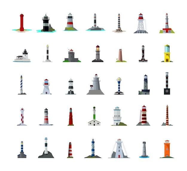 Набор маяков