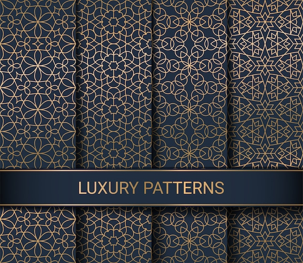 럭셔리 완벽 한 패턴의 집합