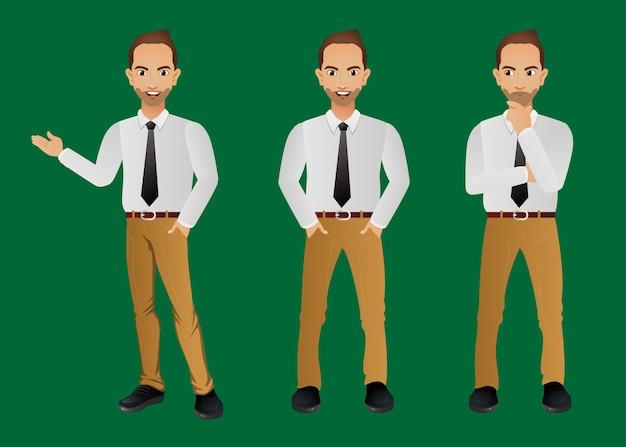 男性キャラクターのセット