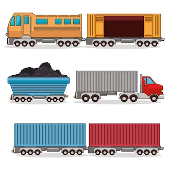 輸送手段のセット