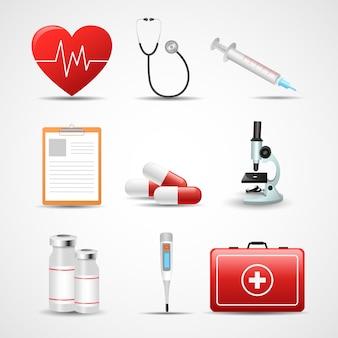 Набор медицинских элементов
