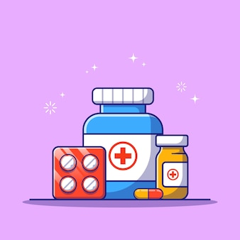 Набор лекарств для медикаментозного консультирования