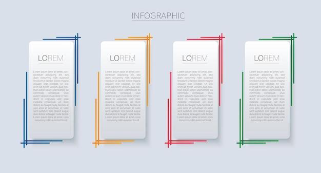 Набор современных квадратных изолированных цвет фона шаблона кадра
