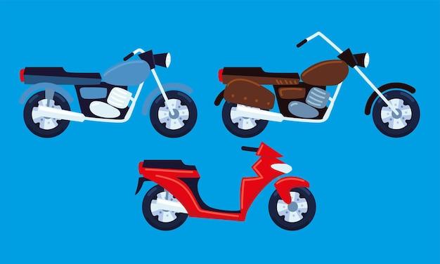오토바이 세트