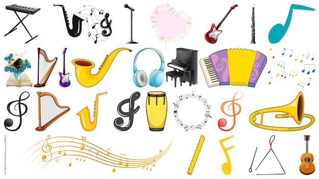음악 악기 세트