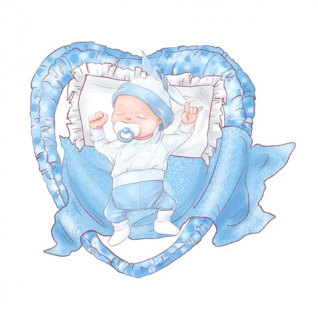 Набор новорожденного душа ребенка на день рождения.