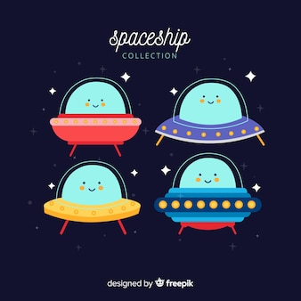 Set of nice spaceships