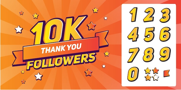 Набор цифр для спасибо подписчикам.спасибо подписчикам поздравление