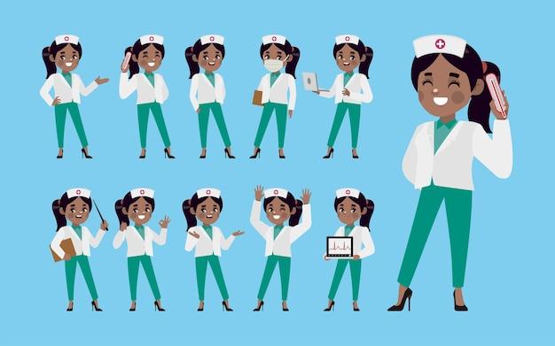 Набор медсестры с другой позой