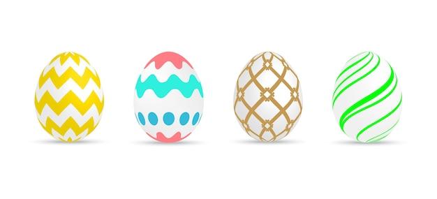 Набор расписных пасхальных яиц