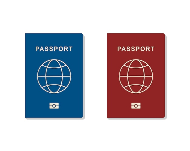 パスポートのセット