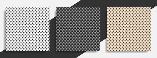 パターンのシームレスな三角形の抽象のセット