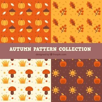 Set of patterns, autumn