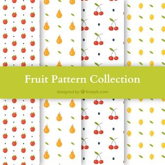 4 개의 다른 과일을 가진 패턴의 집합