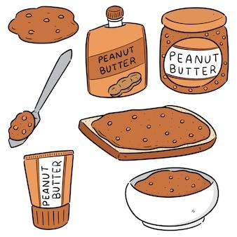 ピーナッツバターのセット