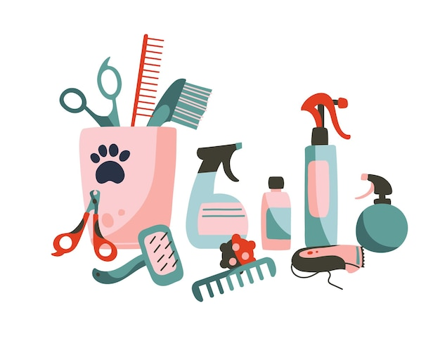 Набор товаров для ухода за домашними животными
