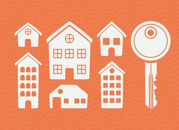 Набор объектов недвижимости