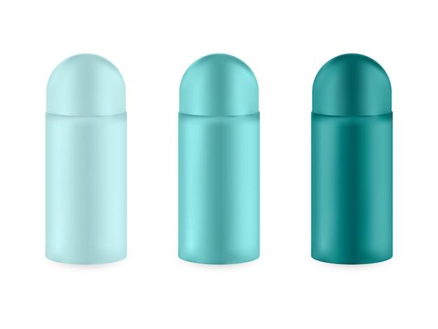 Набор реалистичных пустых пакетов для роскошных косметических продуктов.