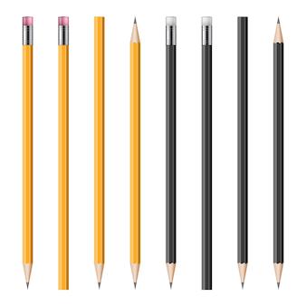 リアルな鉛筆イラストのセット