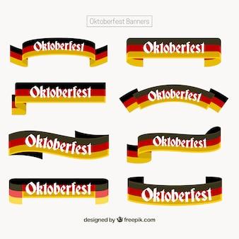 Набор лент с германским флагом