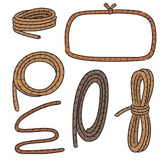 Набор веревки
