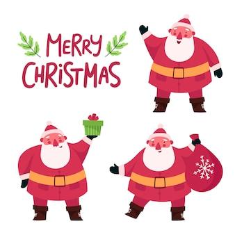 선물 산타 클로스 캐릭터의 설정