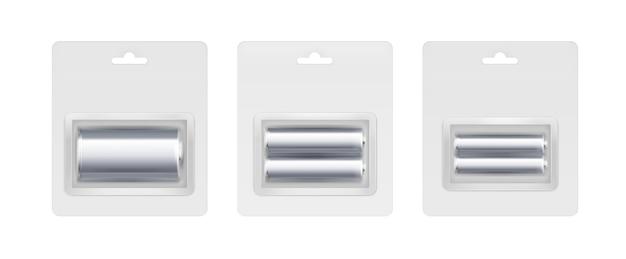 シルバーメタリックアルカリ単三電池、c電池のセット