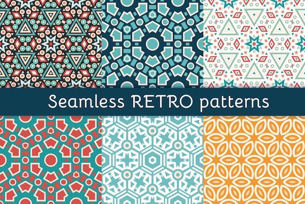 6 민족 완벽 한 패턴의 집합입니다.
