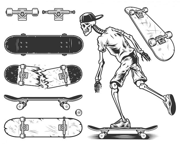 Набор скейтбордов